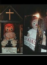 Annabelle,LIFESIZE horror prop,Raggedy Ann,Replica ,world's most haunted doll