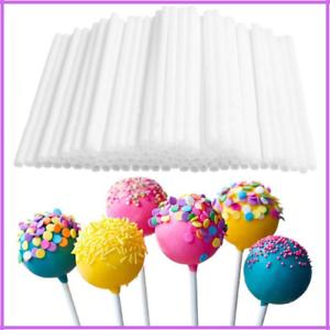 Plastic Lollipop Stick Cake Pop Sticks Safe For Baking Candy Chocolate Sugar