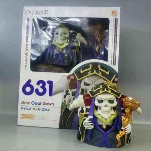 2020  Nendoroid 631 OVERLORD AINZ OOAL GOWN Action Figure New In Box
