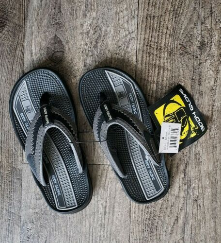Body Glove Cruise II Youth Boys Flip Flops Footwear Black Pick Size 11 12 13