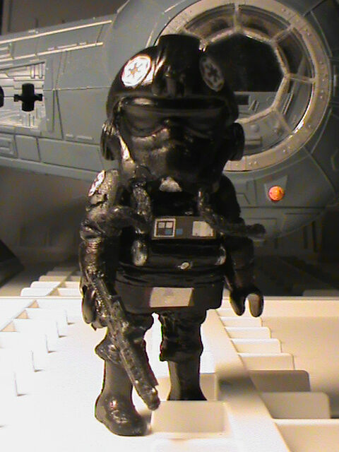 PLAYMOBIL CUSTOM PILOTA TAI FAIGTER  STAR WARS IV  REF-0030 BIS