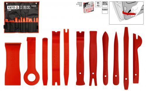 Innenraum Clip Verkleidungs Lösehebel Werkzeug 11 tlg