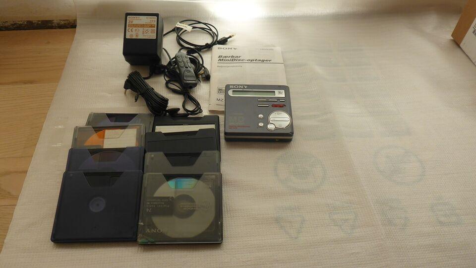 Bærbar minidisc, Sony, MZ-R70