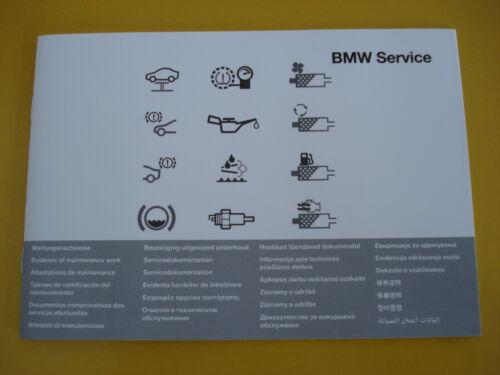 BMW Libro De Mantenimiento Todos los BMW 1 3 4 5 6 7 SERIES M3 M5 X1 X3 X5 X6 Z3
