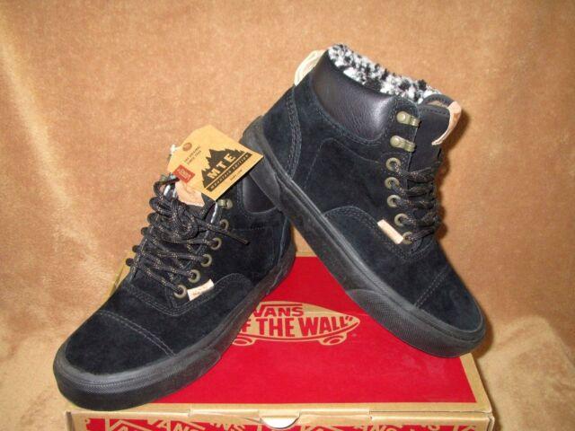 7d84cd5e9e VANS Era Hiker MTE Ca Pig Suede Fleece Black Shoes Mens 5 Womens 6.5 ...