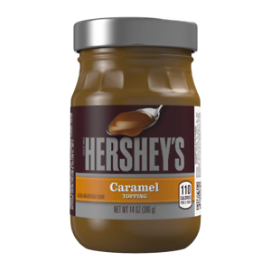 NEW-HERSHEYS-CARAMEL-TOPPING-14-OZ-396g-GLASS-JAR-FREE-WORLD-WIDE-SHIPPING-BUY