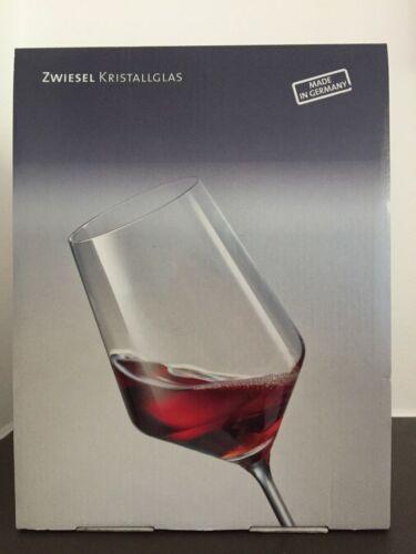 """ZWIESEL /""""Pure/"""" Cabernet Rotweingläser 540 ml 2-er Set neu und ovp"""