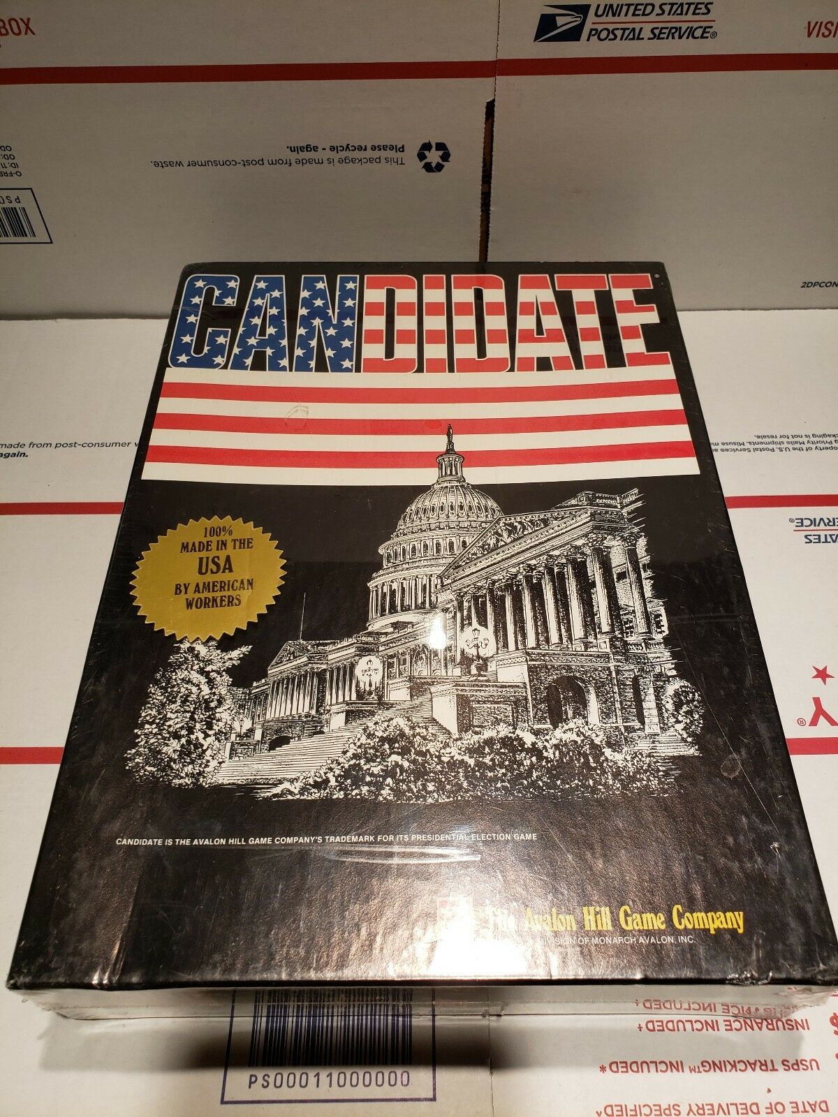 New CANDIDATE Game of US Presidential Elections - Avalon Hill 1992 - Free Ship