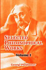 Selected Philosophical Works: Volume I by Georgi Plekhanov (Paperback / softback, 2004)