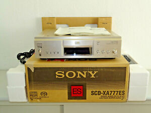 Sony SCD-XA777ES High-End SACD-Player Champagner, OVP&NEU, 2 Jahre Garantie