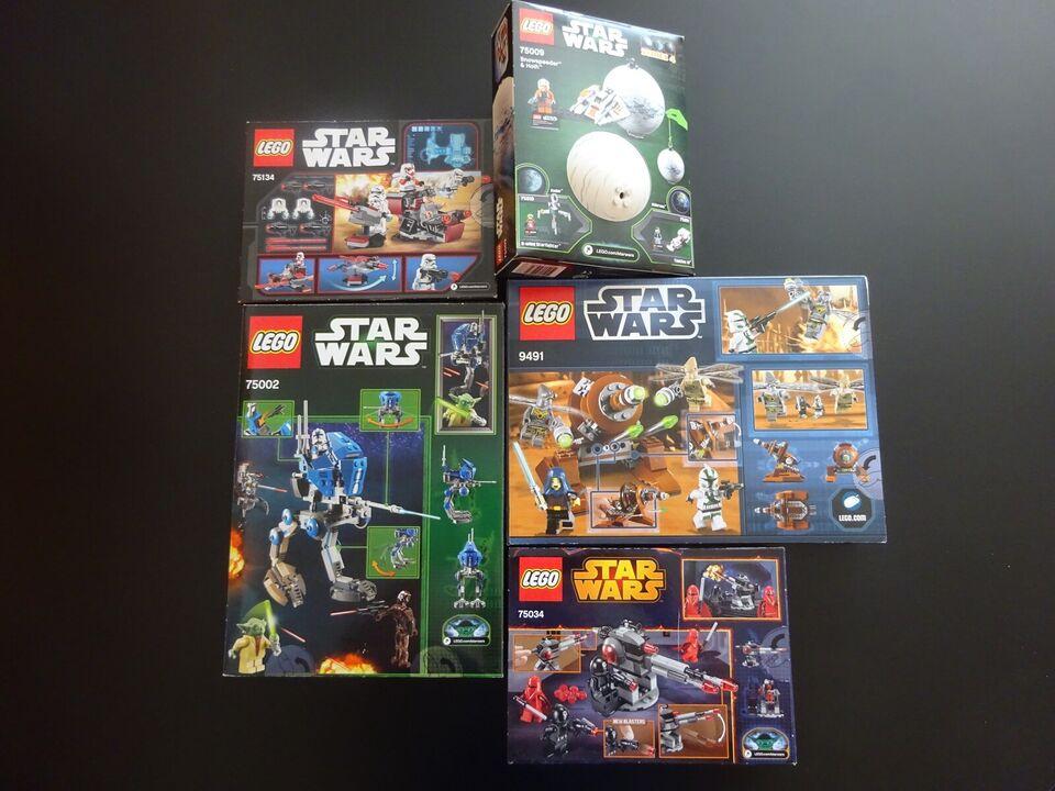 Lego Star Wars, 5 sæt