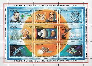Grenada-Nr-2278-2313-Erforschung-des-Mars