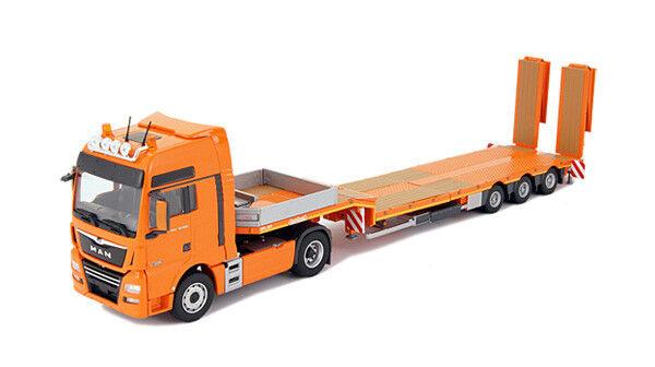 Conrad 76230-01 MAN TGX XXL Euro 6 2-Axle Tractor w Nooteboom Semi-Flatbed 1 50