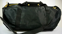Mi-pac Mi Pac Mipac Duffel Duffle Sports Gym Bag Holdall Satin Mesh Black