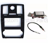 Chrysler 300 Factory Navigation Install 2din Radio Dash Kit W/ Can Bus Wiring