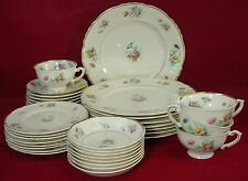 ABERDEEN china SELMA pattern 35-pc SET SERVICE for 8