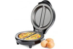 Non-Stick-Electric-700W-Omelette-Maker-Breakfast-Kitchen-Egg-Cooker-Frying-Pan