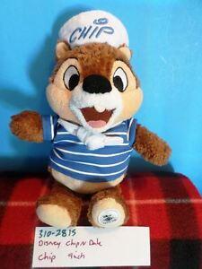 Disney-Chip-N-Dale-034-Chip-034-Bean-Bag-Plush-310-2815