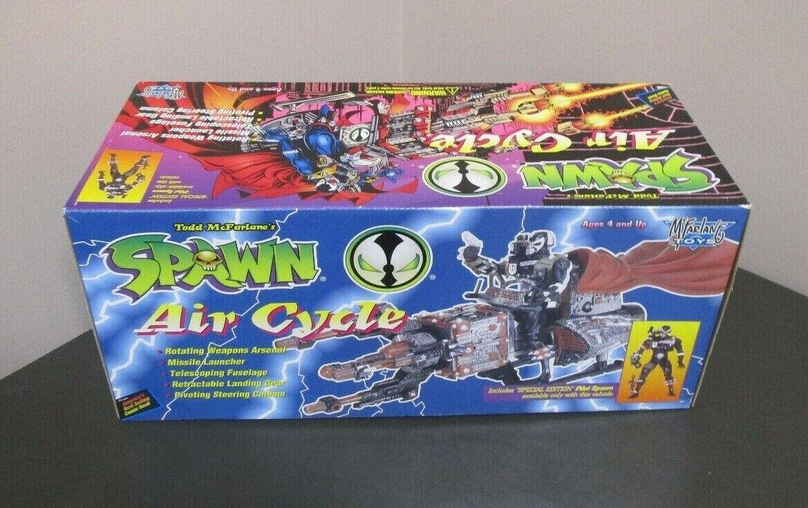 Spawn Spawn Spawn Air Cycle w Pilot Spawn 1995 MCFARLANE giocattoli Vintage Original MIB GV 72caba