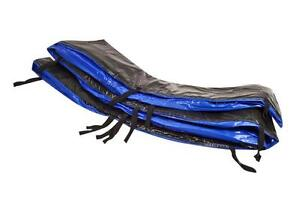 randabdeckung f r hudora trampolin 305 cm blau hochwertigem tarpaulingewebe ebay. Black Bedroom Furniture Sets. Home Design Ideas
