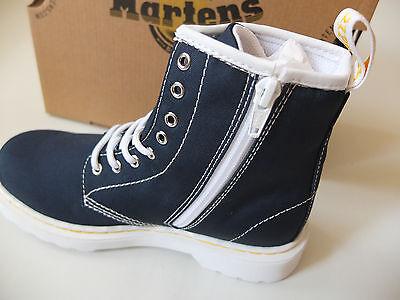 Dr. Martens Delane Navi Canvas Gr 29 UK 11 US 12 Boots Schuhe NEU