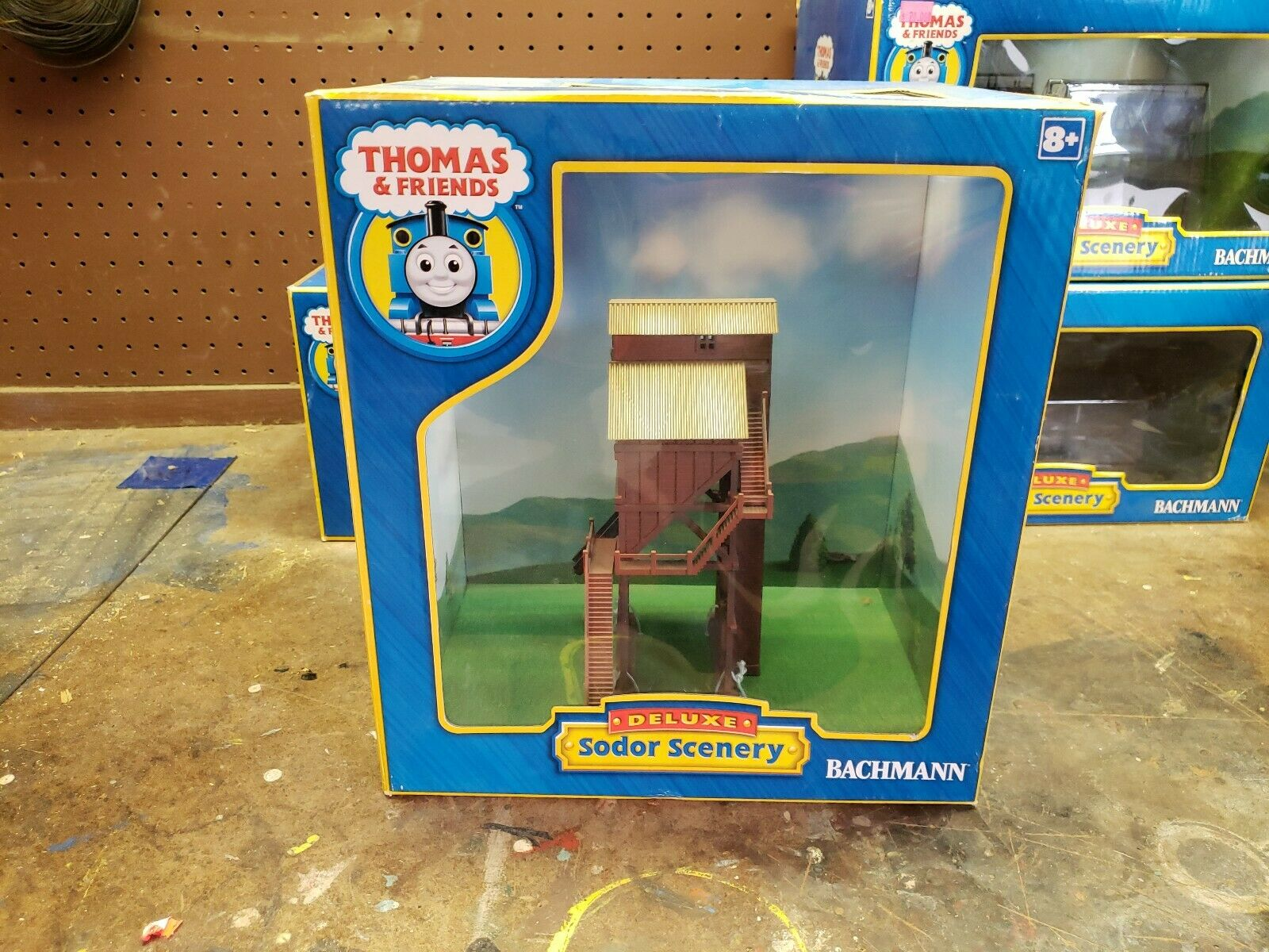 Ho Scale Bachmann Thomas And Friends Deluxe Sodor Scenery Coaling Coaling Station
