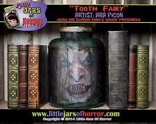 Tooth Fairy/Witch Head in Jar Halloween/Horror Prop/Decor- Fetid Green Version