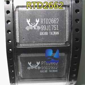 2pcs-RTD2G62-RTD26G2-RTDZ662-RTD266Z-RTD-2662-RTD2662-QFP128-IC-Chip-new