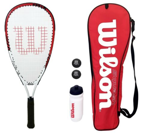 Wilson Tour Pro Junior Squash Set With Balls RRP £69.99