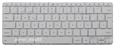 Original New for HP Chromebook 14-ak 14-ak000 14-x 14-x000 US White Keyboard