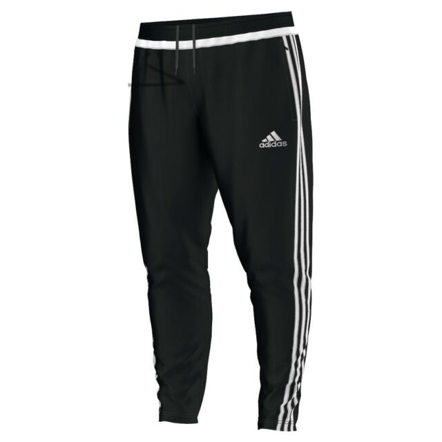 adidas Tiro15 Training Pant Trainingshose lang schwarz weiß  M64031 M64032  17d37f3080