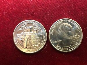 America - États Uni 1/4 Quarter Dollar 2020 Connecticut UNC P