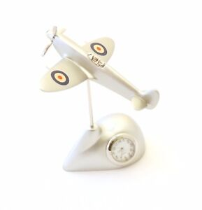 Spitfire-Clock-RAF-Roundel-Wings-Mantel-or-Carriage-Clock-Royal-Air-Force-Gift