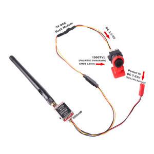 5.8G FPV Transmitter Module TS5828 40CH SMA + 1000TVL Camera For RC Racing Drone