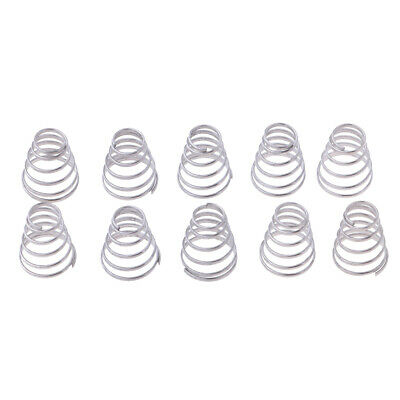 10 Pack Bicycle Replacement Spring Stainless Steel Springs Parts Quick Release