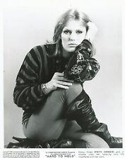Patti Hansen Foto B/N 20x25cm - Press Photo B/W 8x10 (Film Hard To Hold) 1984