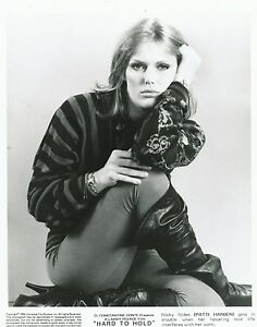 Patti-Hansen-Foto-B-N-20x25cm-Press-Photo-B-W-8x10-Film-Hard-To-Hold-1984