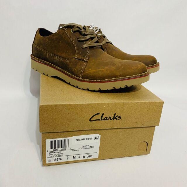 Clarks Mens Vargo Plain Oxford