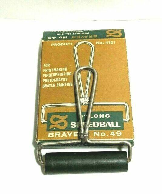 Speedball 4 Inch Brayer Vintage