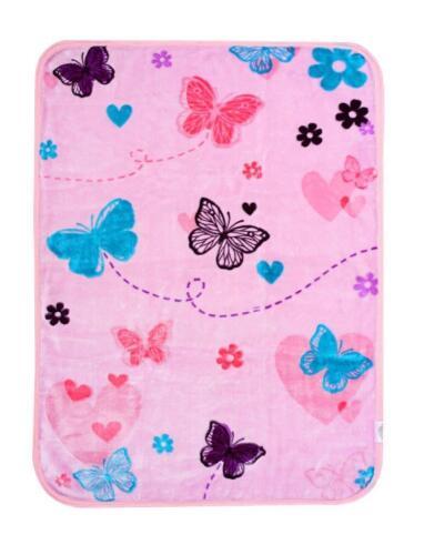Newborn Infant Baby Boy Girl Soft Fleece Blanket Pram Crib Moses Basket Unisex