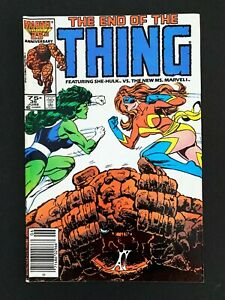 THE-THING-36-MARVEL-COMICS-VF-1986-NEWSSTAND-EDITION-RARE