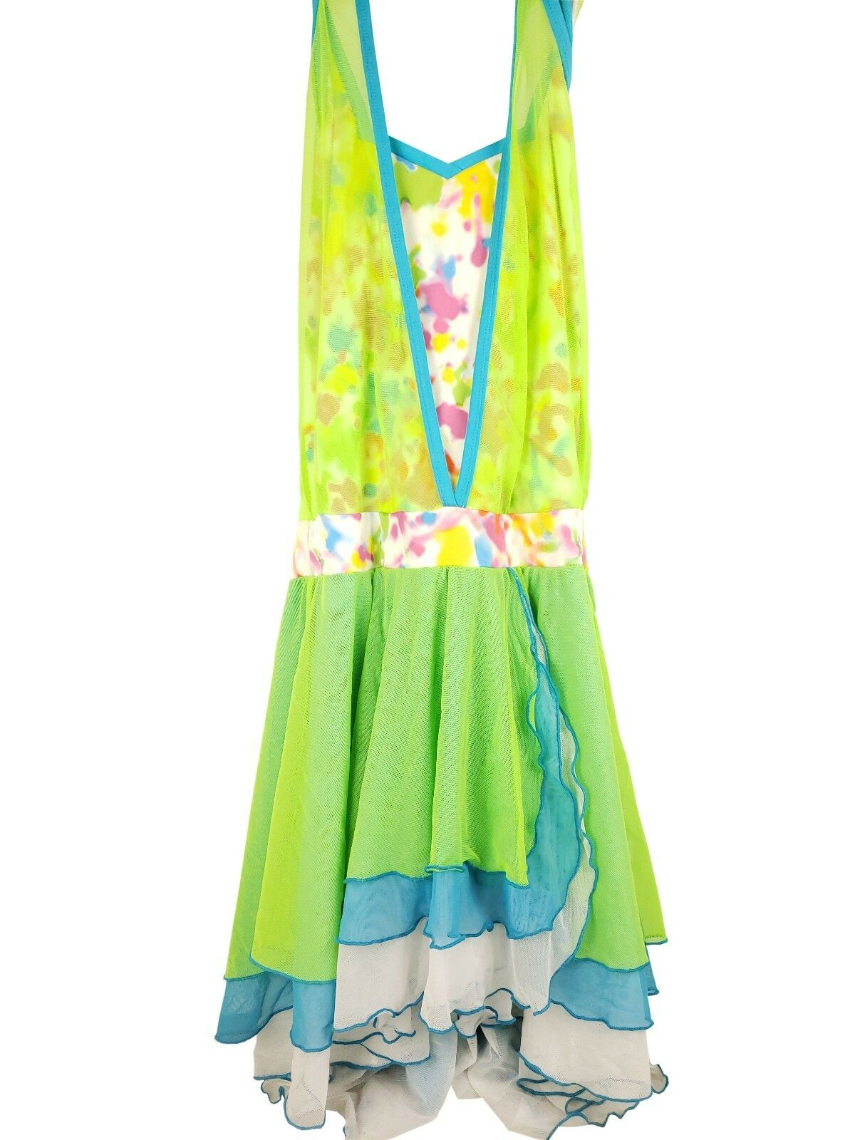 Green Mos w  Crooy Design Recital Dance  Costume - Women's Adult Large  promotions