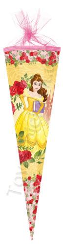 Nestler Schultüte Disney/'s Princess Belle Zuckertüte Schulanfang Einschulung