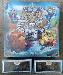 Arcadia Quest Riders Samson and Baron Kickstarter Exclusive