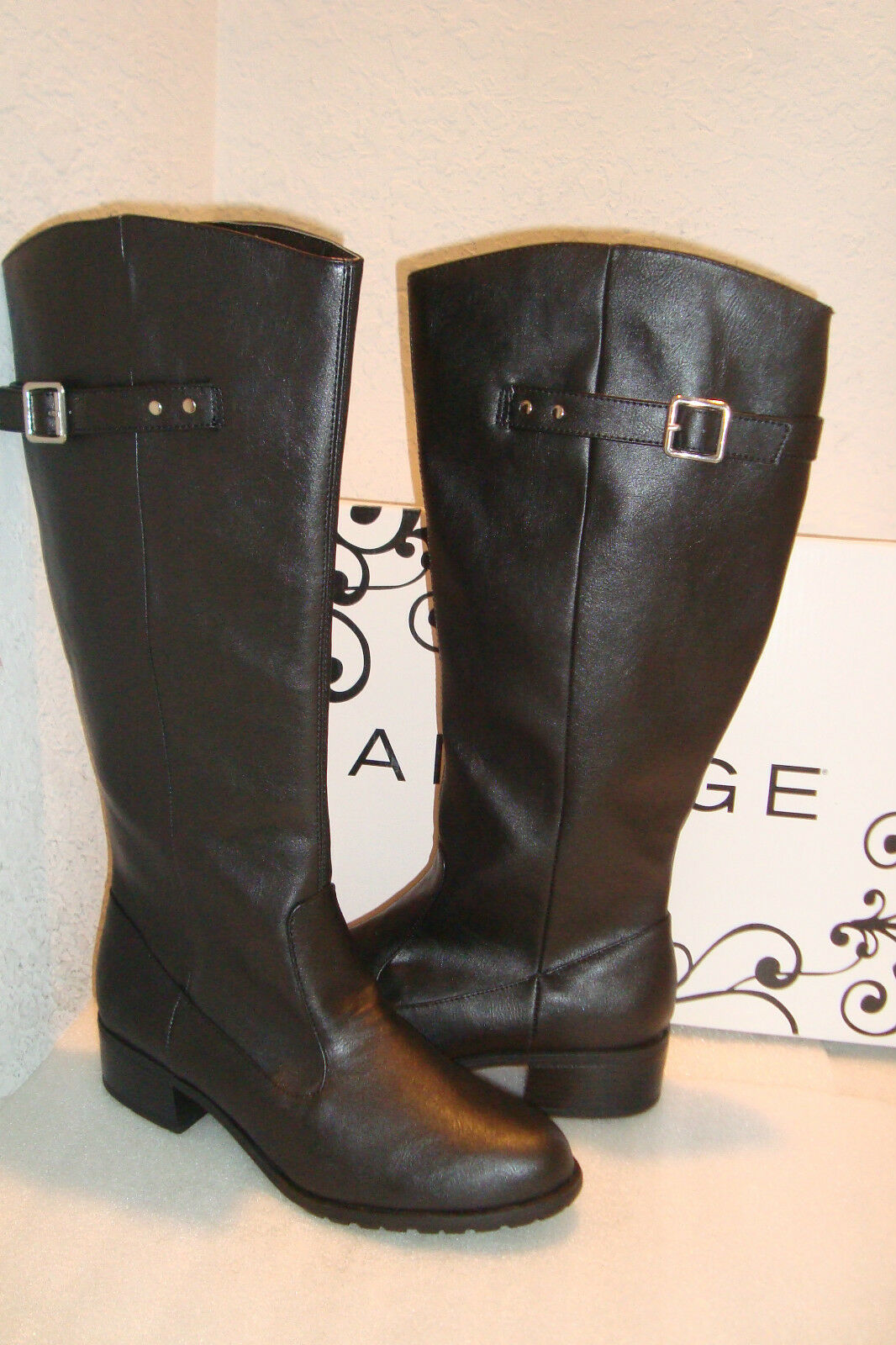 Rampage Womens NWB Idaho Black Boots Shoes 10 MED NEW