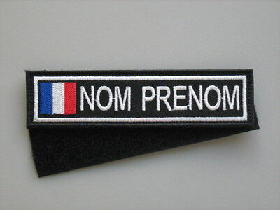PATCH PERSONNALISE' NOM BRODE'  KART RALLYE SPORT