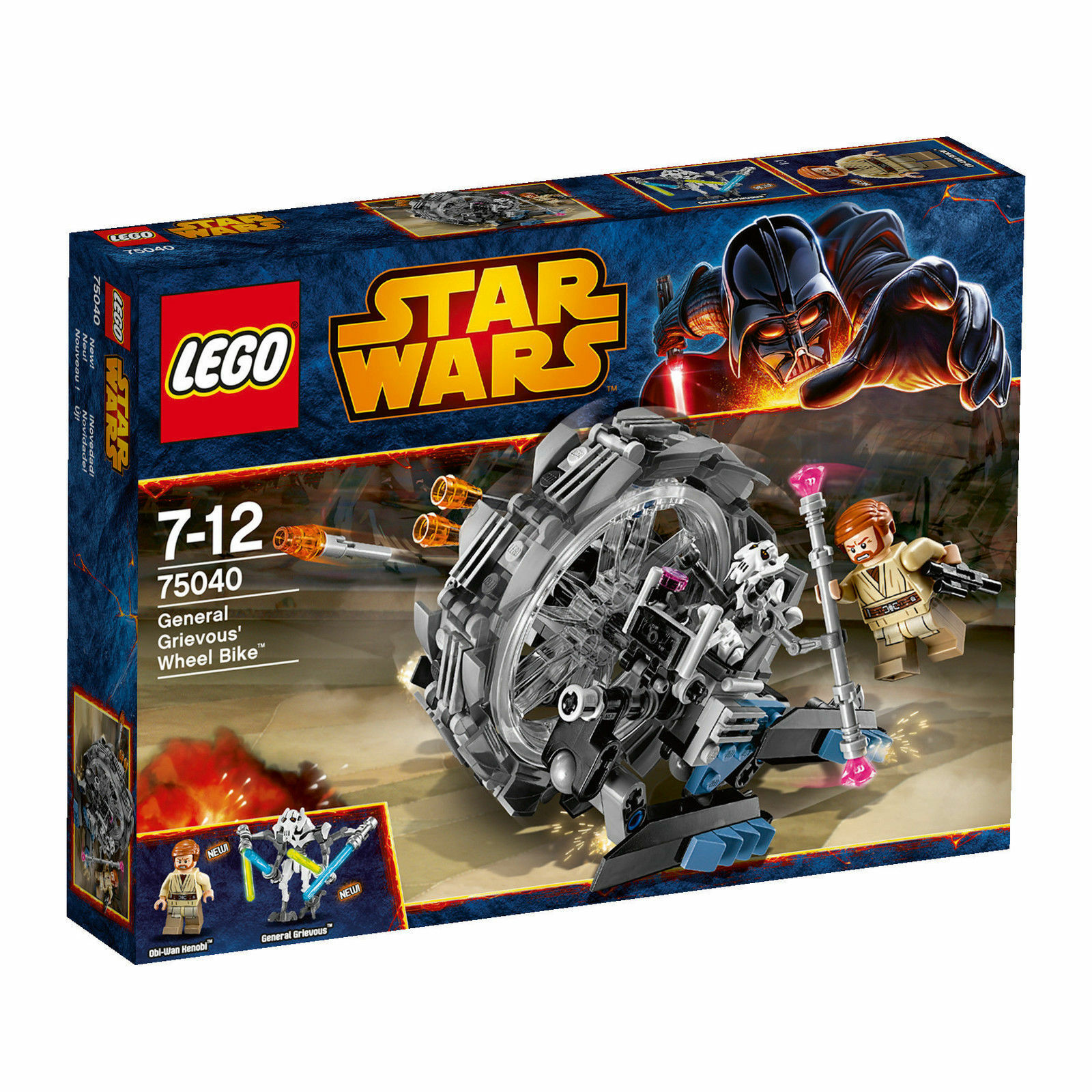 LEGO® 75040 Star Wars General Grievous Wheel Bike Neu OVP new sealed