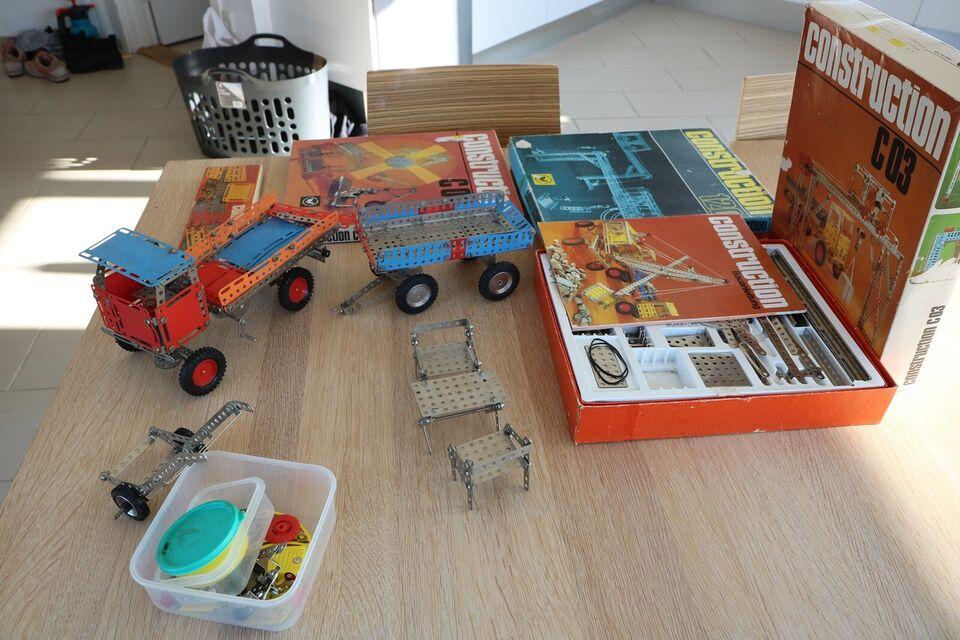 Byggesæt, Ingeniørbyggesæt, Construction