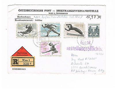 1136 1137 1138 1139 Herzhaft Österreich Minr 1141 Als Mif Auf Nn-r-brief Eine Lange Historische Stellung Haben