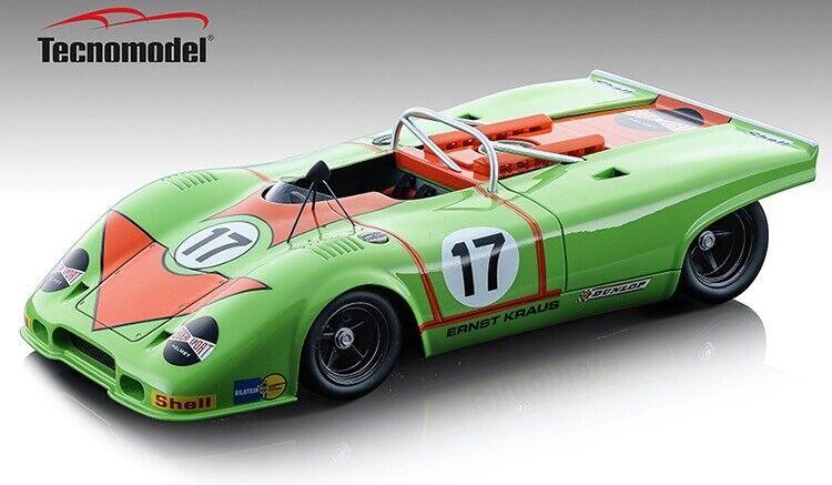 1971 Porsche 917 Spyder Ernst Kraus 1 18 PRE-ORDER Technomodell LE 100 MIB